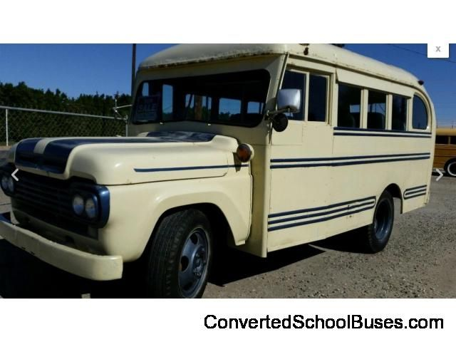 1959 Ford Short School Bus San Bernardino - Converted School Buses