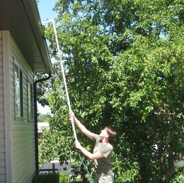 PVC Gutter Cleaner