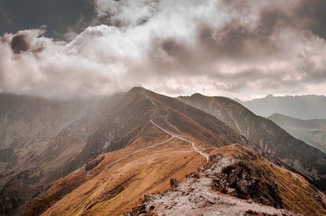 Czerwone Wierchy, Tatry, W stronę chmur......, POLSKA