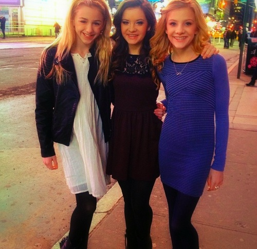 Chloe, Brooke, and Paige from Dance Moms. Didn't know where to put it but I love them!