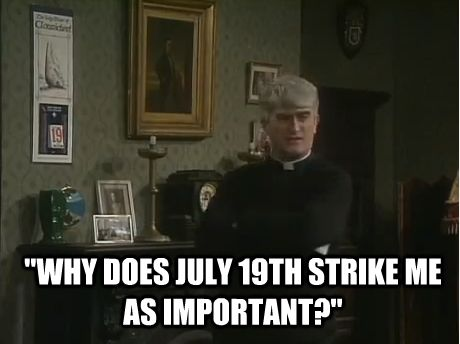 11 things Father Ted taught us about going on our holidays...lmao!!!