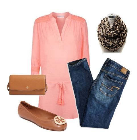 Coral, Leopard and Tory Burch