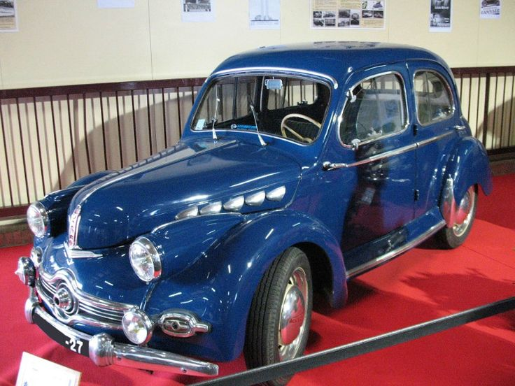 rare panhard dyna k220 break 1953 tags france vend e la roche sur yon foirexpo classic cars. Black Bedroom Furniture Sets. Home Design Ideas