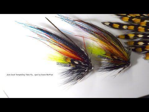 Tying the Jock Scott TempleDog by Davie McPhail - YouTube