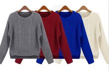 Hemp cotton round neck casual long sleeve womens sweaters  Best Seller follow this link http://shopingayo.space