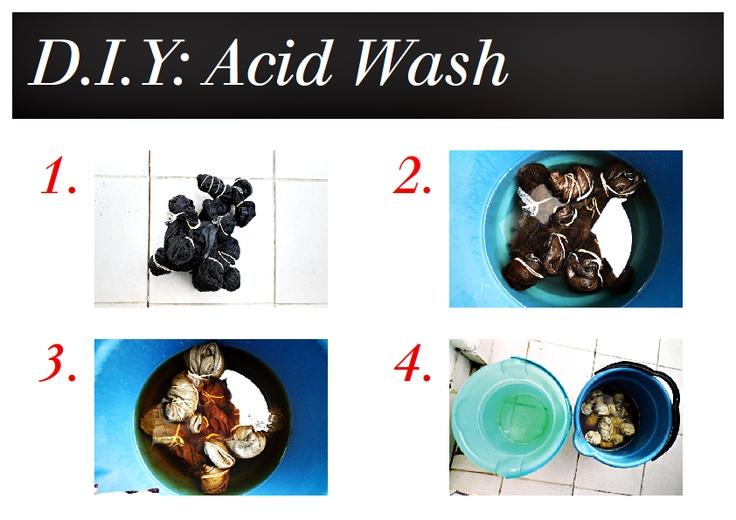 D.I.Y Acid Wash Jeans. http://www.flaviaflanders.com