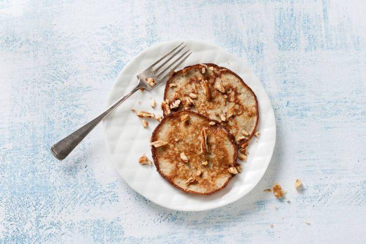 Gezond ontbijten wordt een feestje met deze glutenvrije pannenkoekjes. - recept - Allerhande