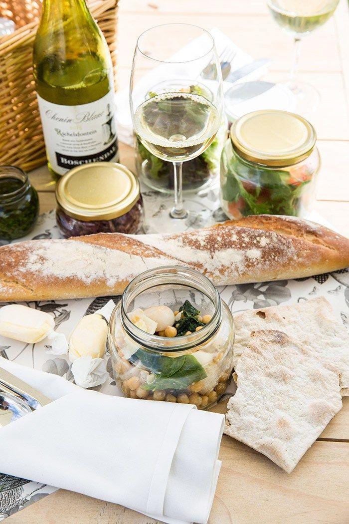 BBQ picnic at Boschendal Farm to Table Festival