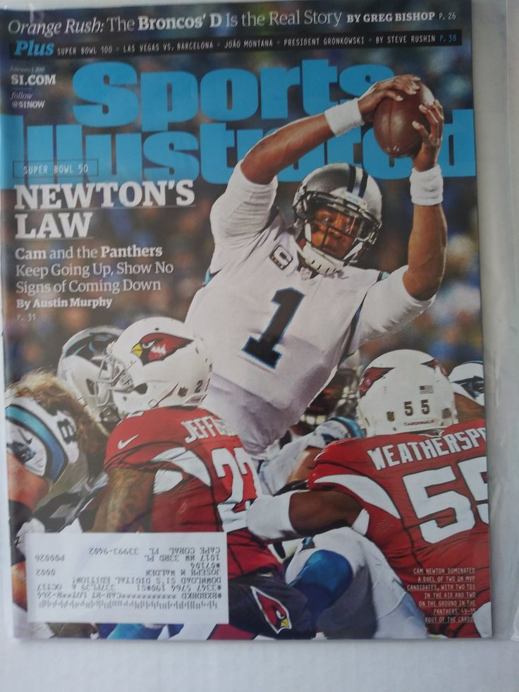 Sports Illustrated February 1, 2016 in 2020 Sports
