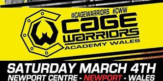 MMA CAGEWORLD : Cage Warriors Academy Resultts S 4th March 2017