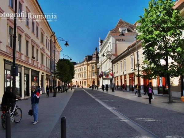 Street from Sibiu City.