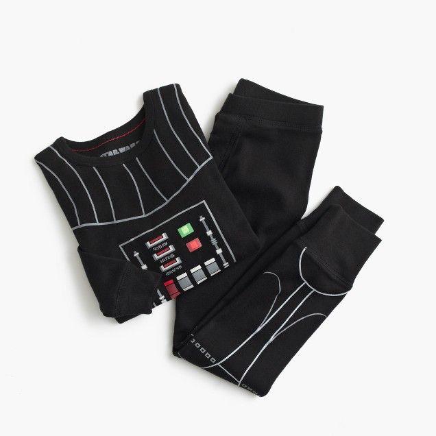 Kids' Star Wars™ for crewcuts glow-in-the-dark Darth Vader sleep set