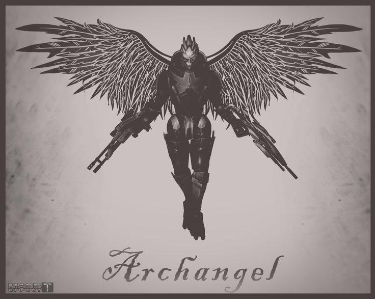Archangel (Mass Effect 2) by toxioneer.deviantart.com on @DeviantArt