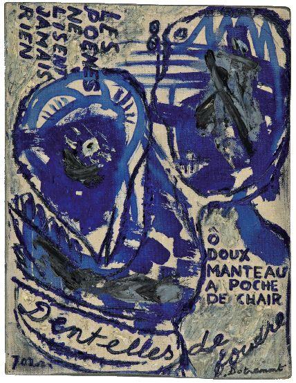 COBRA, sous le regard d'un passionné : CHRISTIAN DOTREMONT & ASGER JORN, Dentelles de Foudre, Fondation Roi Beaudouin