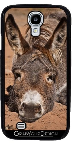 GrabYourDesign - Case for Samsung Galaxy S4 mini Down donkey - by PINO