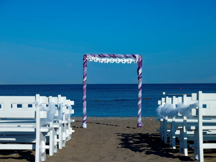 Wedding on the beach! By Esperia Weddings