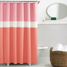 kate spade Spring Street Coral Shower Curtain - Bed Bath & Beyond