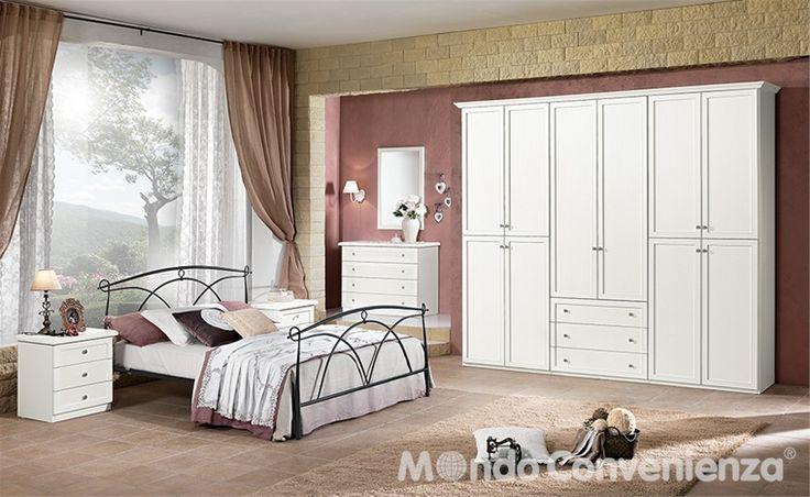 Pi di 25 fantastiche idee su camera da letto per coppia su pinterest camera coppia - Mondo convenienza camere da letto complete ...
