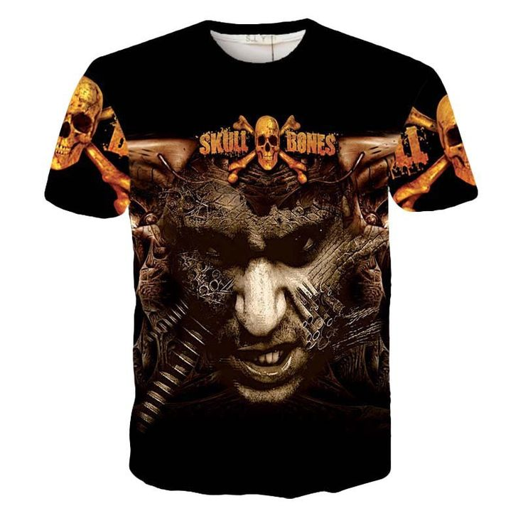 Short Sleeve T Shirts Man Plus Size The Walking Dead Zombies Printed T-shirts Men 3D Designer Clothing