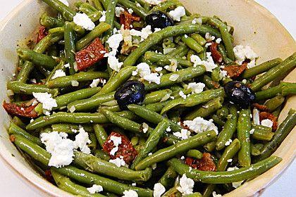 Grüner Bohnensalat mit getrockneten Tomaten (Rezept mit Bild) | Chefkoch.de