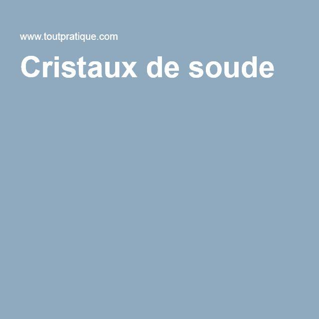 Cristaux de soude Crépi, nettoyage façade Pinterest Facades