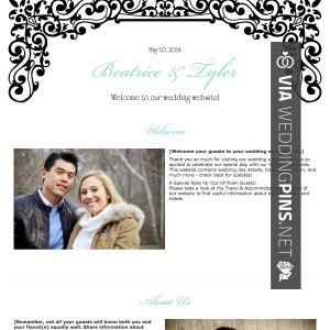 Wow - philip markoff wedding website   CHECK OUT MORE GREAT WEDDING WEBSITE PICS AT WEDDINGPINS.NET   #weddings #wedding #weddingwebsite #weddingwebsites #events #forweddings #hot #love #romance
