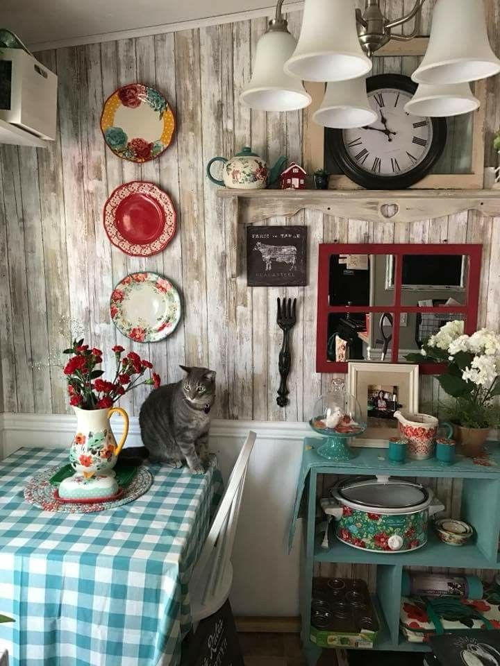 Pioneer Woman Dishes Kitchen Farmhouse Style Ideas Country