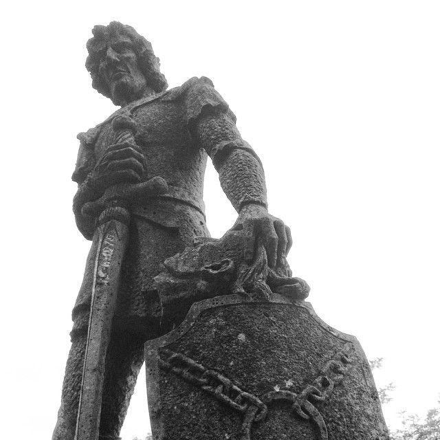 Monumento a Ghino di Tacco - Radicofani | #siena #valdorcia #toscana #italia #tuscany #italy
