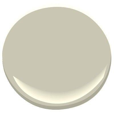 benjamin moore - gray mirage (bedrooms)