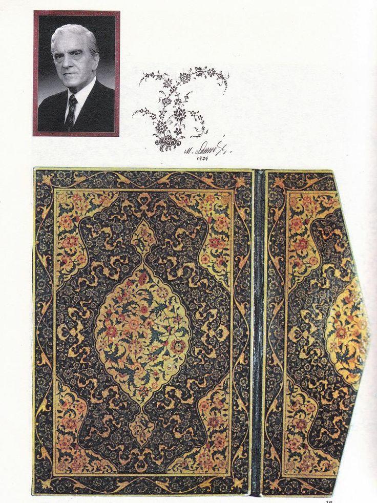 20.yy.Lake(rugani) üstadi Muhsin Demironat'ın kitab kabı ve bir karakalem çalışması.