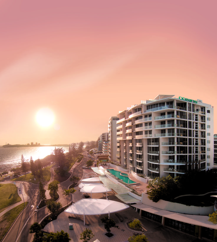 Oceans Mooloolaba... The ultimate five star oceanfront resort