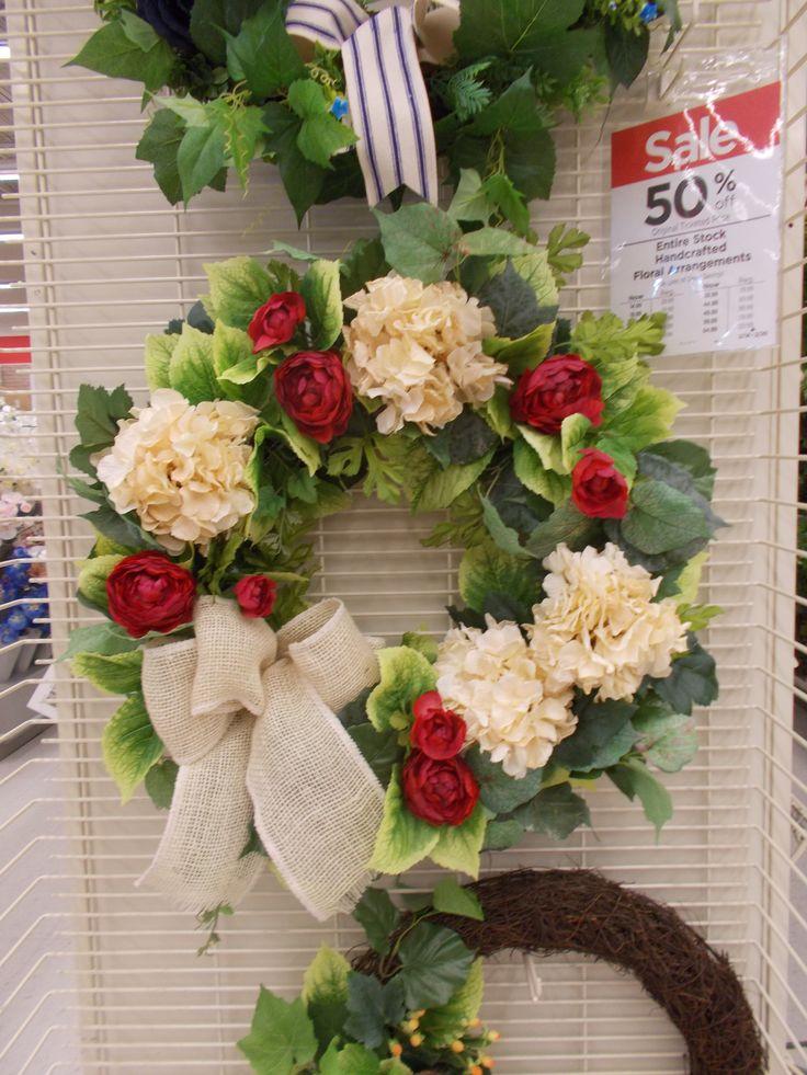 Spring Wreath sherrie 2015