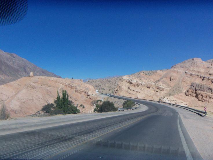 jujuy, ruta 9 camino a Salta