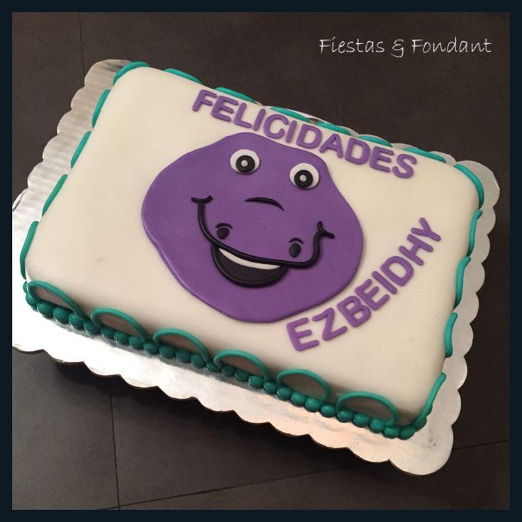 Barney cake by Fiestas & Fondant