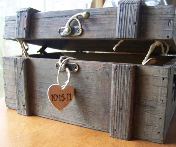 Rustic Wedding date night ideas for at the wedding and open up the box when u have a fight and go on the date! :)