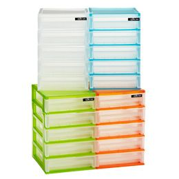 The Container Store 5-Drawer Desktop Organizer For the art room