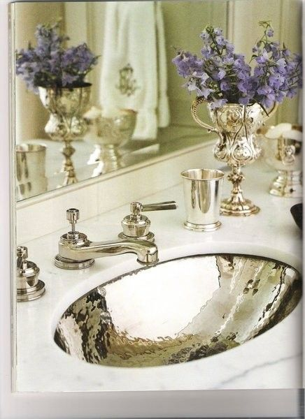 Powder Room Sink And Faucet Beautiful Bathrooms Dream