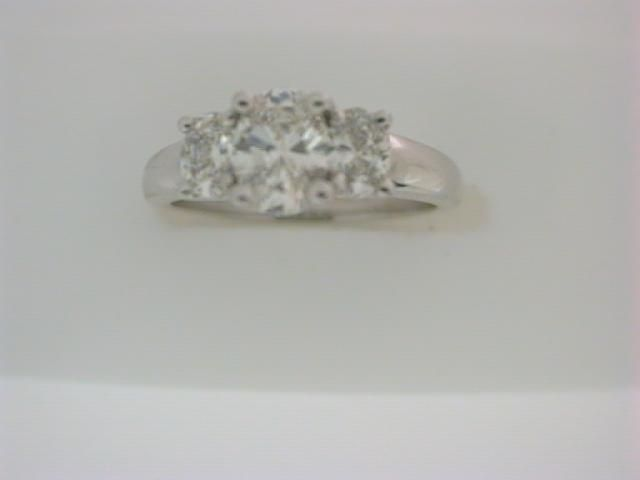 14K W DIA PPF RING, 1.04 TDW, SIZE 6.5 | Diamond Engagement Rings from Griner Jewlery Co. | Moultrie, GA