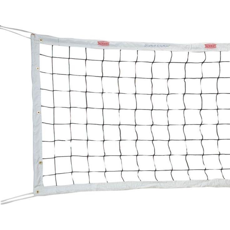Tachikara PV-NET Professional Volleyball Net, Grey