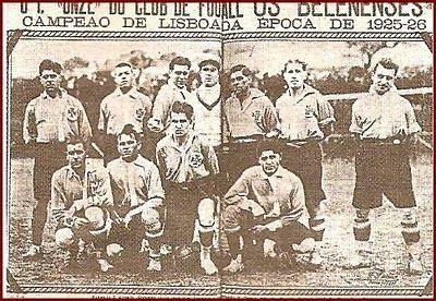 Os Belenenses 1925/26 | OS BARDINOS: VIVÓ BELÉM!!!