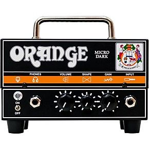 Shop for the Orange Amplifiers Micro Dark 20W Tube Hybrid Amp Head and receive free shipping on your order and the guaranteed lowest price.