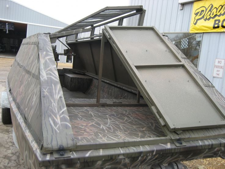 Iawaterfowlers Boat Duck Hunting Boat Duck Boat Blind