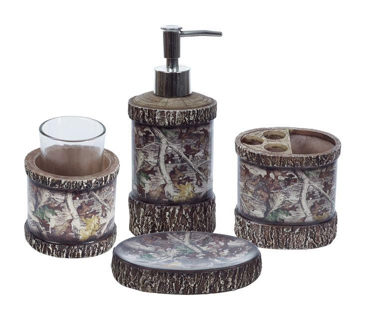 Camo bathroom sets