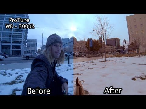 Tip #48 GoPro - Hero3 ProTune with Color Corrections