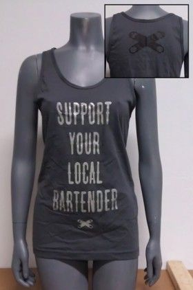 Support Your Local Bartender Tank
