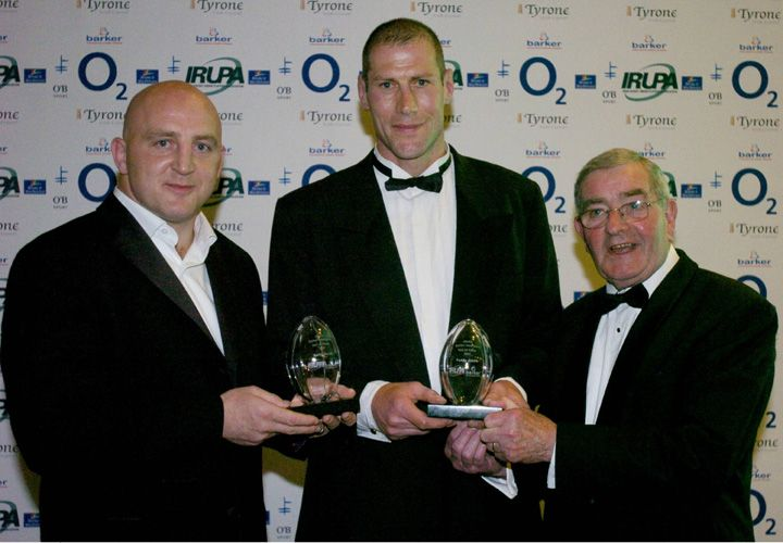 Another double induction in 2004 - Keith Wood and Paddy Johns