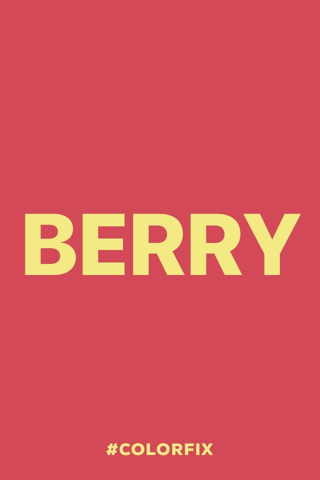 Berry.  #madewithover