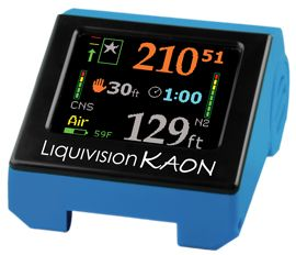 Liquivision Kaon Air & Nitrox Dive Computer Kit