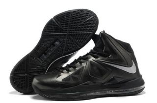 Nike Lebron X 10 Anthracite Black Silver Style 541100 001 Onlin