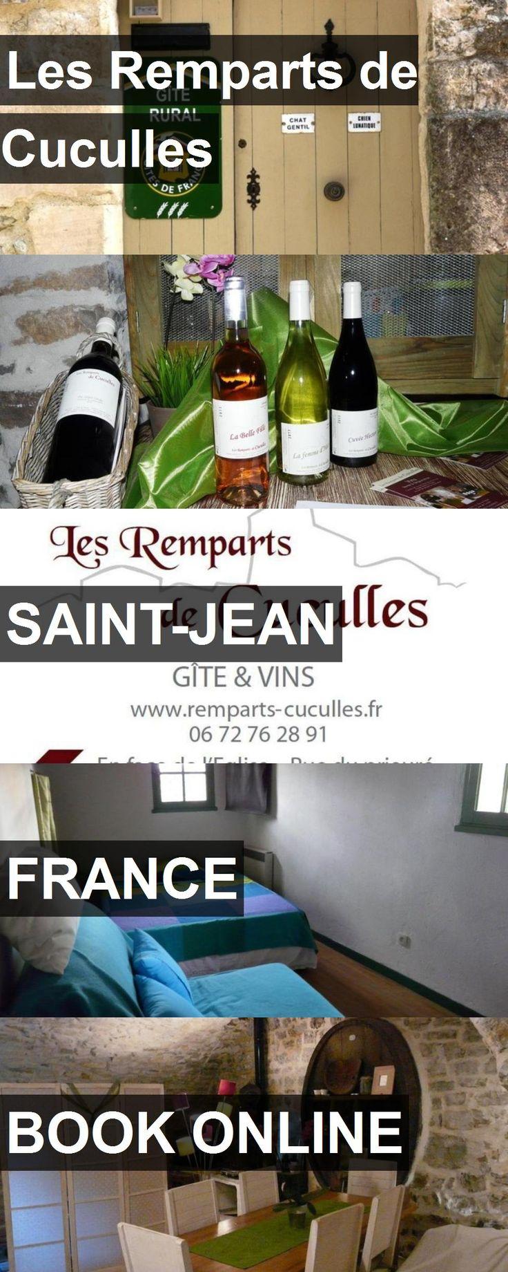 Hotel Les Remparts de Cuculles in Saint-Jean, France. For more information, photos, reviews and best prices please follow the link. #France #Saint-Jean #LesRempartsdeCuculles #hotel #travel #vacation